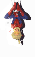The Spiderman of Beyblade || Mystel by soft-cookies
