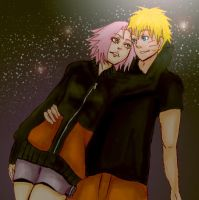 NaruSaku Together by nyuhatter
