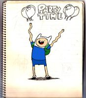 Finn - Adventure Time_colour by Cori123