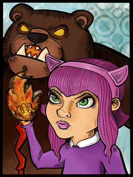 Have you seen my bear Tibbers? by JuMoInvasion