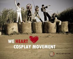 We Heart Cosplay Movement by macmurdock