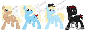 Alice Madness mlp adopts by FallenTheWolf