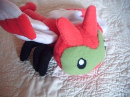 yanma plushie by Plush-Lore