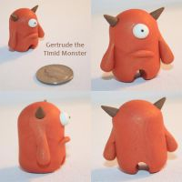 Gertrude the Timid Monster by TimidMonsters