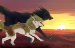 Running with the Wind by TheTwirlyWolf