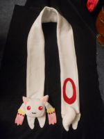 Kyuubey scarf by Pennies-to-JEMS