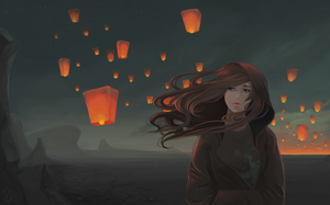 Lanterns by vi-ai