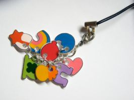 Lucky Charms Cell Phone Charm by manda-pie