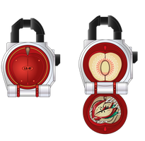 Premium Lockseed Red Apple Arms by netro32