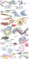 Fish Pokemon