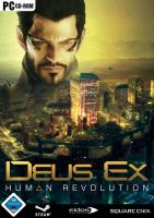 Deus EX H.R. Fancover by F3I5T