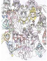 Sailor Senshi by SailorRocket