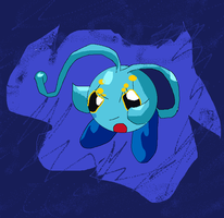 Manaphy kirby by Angelus3Love