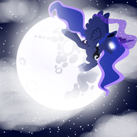 princess luna by lilinyancatlolol