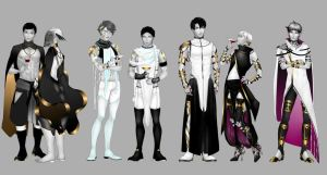 Haikyuu!! Slavers AU by shaerahaek