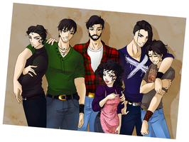 P3 - The MacRath Family by MaraAum