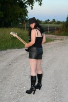 Guitar and Boots Stock - 2 by SafariSyd