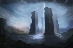 Pillars by romann7