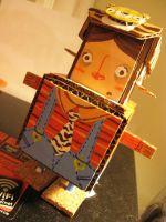 Paper toy by asyerart