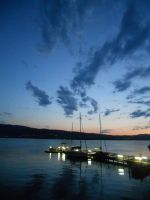 attersee in the night by 97lessi