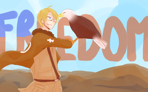 Hetalia - Happy Independance Day by megane-no-buta