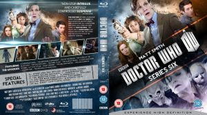 DOCTOR WHO SERIES 6 BLU-RAY COVER by MrPacinoHead
