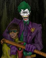 Joker and Jason Happy by obviousproductions