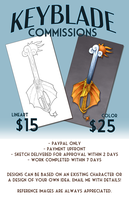 Keyblade Commissions Now Open by SMachajewski