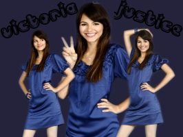 Victoria Justice Wallpaper 1 by VampireGirl1904