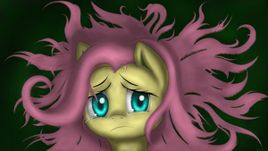 Fluttershy can't find Angel by ImShySoIhide