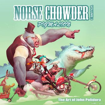 Norsechowder Volume 3 Pigmalion Cover Art by NorseChowder