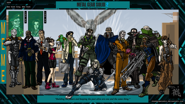 Metal Gear Solid 2: Sons of Liberty by cheddarpaladin