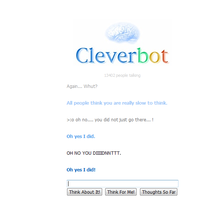 CLEVERBOT HATES ME by Animallover08