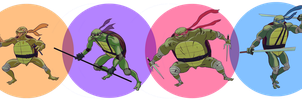 my turtles by dragonalth