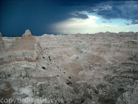 Badlands landscape by EllieVyle