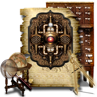 Secret Garden Machine Icon Library by TheAngeldove