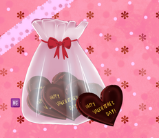 Valentine chocolates by solcastle