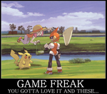 To Game Freak Lovers... by JDMWanganPichu