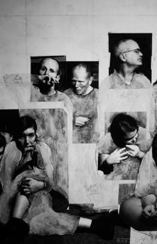 The Last Supper Detail WIP by kevissimo