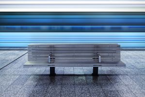 dipping blue by schnotte