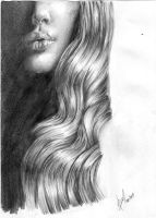 hair study by 5antiago