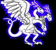 'Angel' - Angel Dragon Form by AngelGhidorah