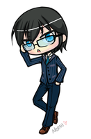Tinier Me- Lawliet L. Lear by Nerah-chan