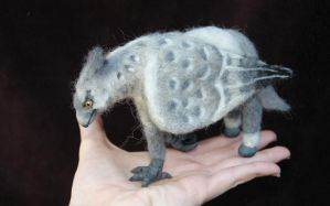 Needle felted Buckbeak by amber-rose-creations