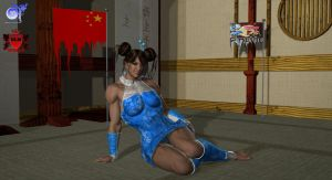 Chun Li Stage 1-5 by TheRedCrown