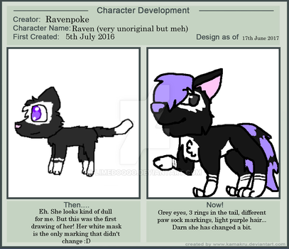 Character Development MEME by Ravenpoke