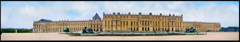 Versailles palace by Belpom