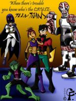 Dark Teen Titans by teentitans