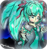 ::Miku:: by Nine-Roses
