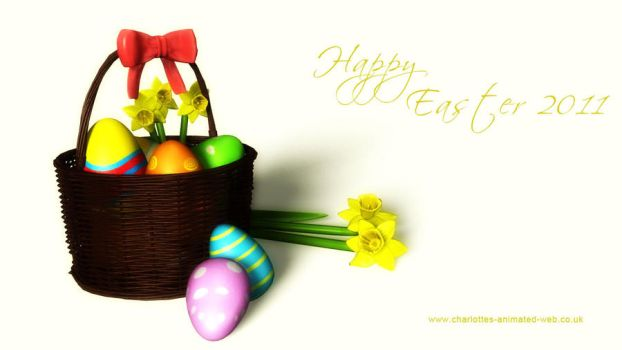 Happy Easter 2011 by Jadzia21